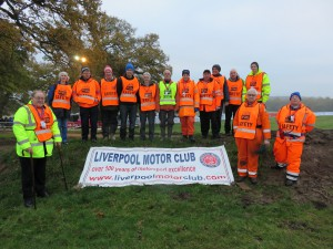 Our marshalling team on Wales Rally GB