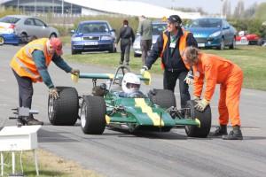 Lining up an historic Lotus 69