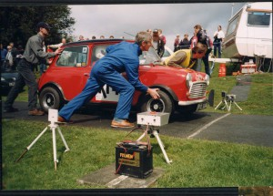 Mini at Barbon Hillclimb