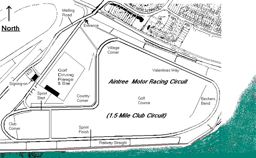 Aintree Circuit :: Liverpool Motor Club